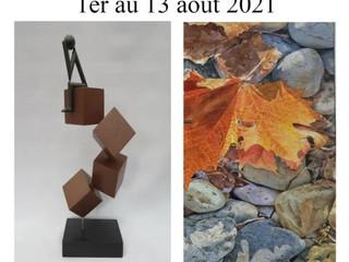 à Plomodiern - 35ème Salon de Peinture et de Sculpture - du 1er au 13 août 2021