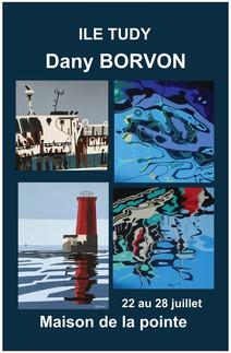à L'Île Tudy - Exposition de peinture - du 22 au 28 juillet 2021
