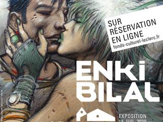 à Landerneau - Exposition Enki Bilal - du 18 juillet 2020 au 4 janvier 2021