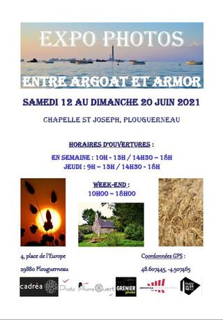 à Plouguerneau - Exposition de Photos - du 12 au 20 juin 2021
