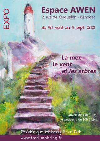 à Bénodet - Exposition de peinture - du 30 août au 5 septembre 2021