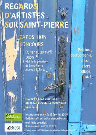 à Brest - Exposition - Concours - dessins, peintures, photos, collages - du 1er au 30 avril 2020