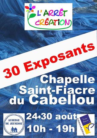 à Concarneau - Exposition - du 24 au 30 août 2020