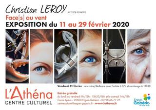 à Ergué-Gabéric -Exposition Christian LEROY - du 11 au 29 février 2019