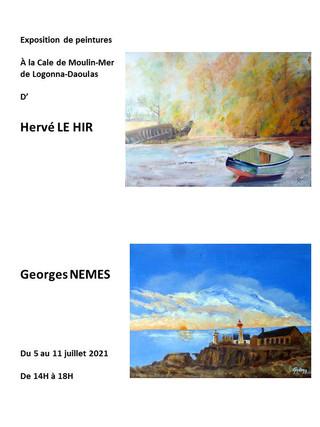 à Logonna-Daoulas - Exposition de peintures - du 05 au 11 juillet 2021