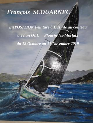 à Plourin-les-Morlaix - Exposition peintures - du 12 octobre au 11 novembre 2019