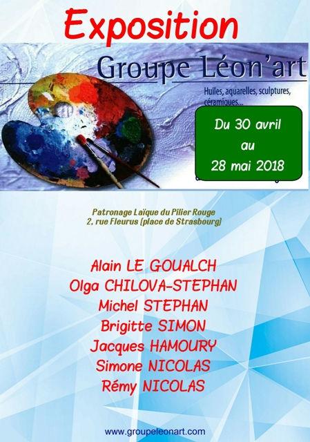 Salon de printemps Le relecq Kerhuon, invité d'honneur : Carmélo de la Pinta