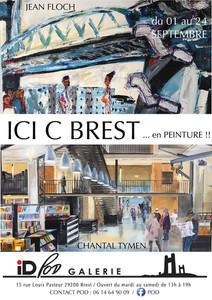 à Brest - Exposition de Peintures - du 1er au 24 septembre 2020