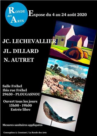 à Plougasnou - Exposition - du 4 au 24 août 2020