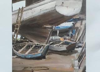 à Plougasnou - XXXIXème Salon de Peinture - du 14 juillet au 16 août 2020