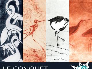 Au Conquet - Exposition de Gravures - du 3 septembre au 3 octobre 2021