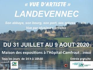 à l'Hopital-Camfrout - Exposition d'été - du 31 juillet au 9 août 2020