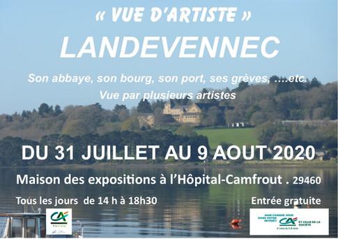 vue d'Artistes Landévennec 2020