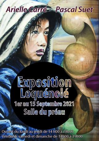 à Locquénolé - Exposition de peintures et de sculptures - du 1er au 15 septembre 2021