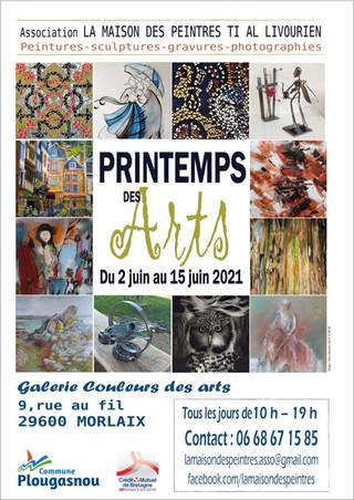à Morlaix - Printemps des Arts - du 2 au 15 juin 2021