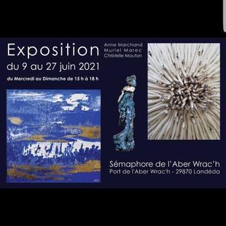 à Landéda - Exposition au Sémaphore - du 9 au 27 juin 2021