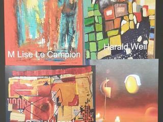 à Sainte-Marine -Exposition Quatr'Artistes - du 3 au 9 septembre 2021