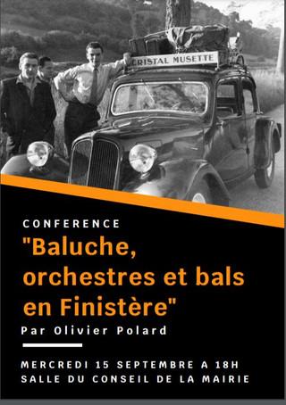 à Logonna-Daoulas -  Conférence - le 15 septembre 2021