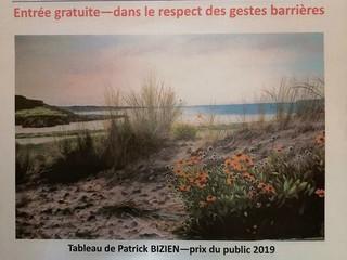 à Lanvéoc -Exposition de Peintures - du 18 juillet au 16 août 2020