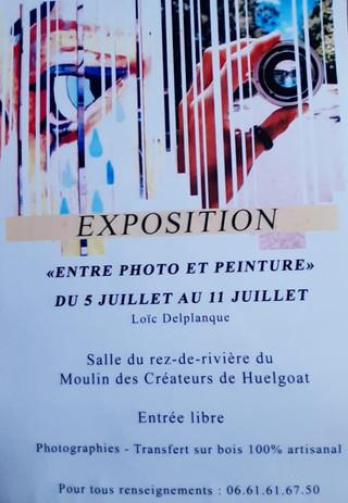 à Huelgoat - Exposition Photos - du 5 au 11 juillet 2021