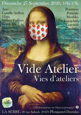à Plougastel-Daoulas - Vide Atelier - 27 septembre 2020