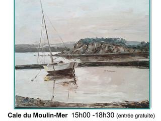 à Logonna-Daoulas - Exposition Peinture-Sculpture - du 20 au 26 juillet 2020