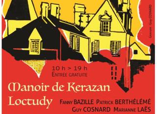 à Loctudy - 7ème Salon de la gravure - du 18 au 20 septembre  2020