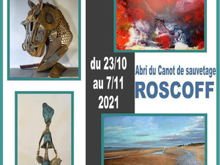 à Roscoff - Salon des Arts - du 23 octobre au 7 novembre 2021