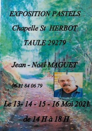 à Taulé - Exposition de Pastels - 13, 14, 15 et 16 mai 2021