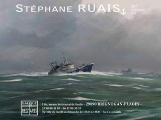 à Brignogan-Plage - Exposition galerie REG'ARTS - août et septembre 2019