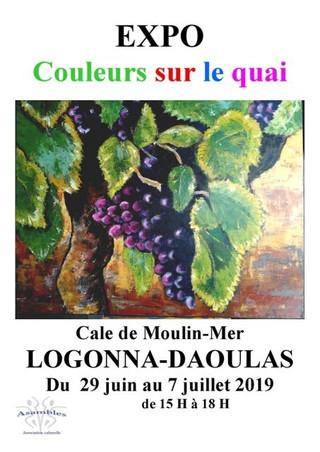 à Logonna-Daoulas - Exposition de peintures - du 29 juin au 7 juillet 2019