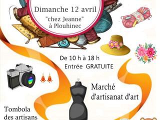 à Plouhinec - Coup de balai dans l'atelier - dimanche 12 avril 2020