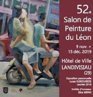 à Landivisiau - 52ème Salon de Peinture du Léon - du 9 novembre au 15 décembre 2019