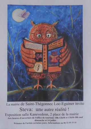à Saint-Thégonnec/Loc-Eguiner - Exposition de peintures - du 13 au 29 juillet 2021