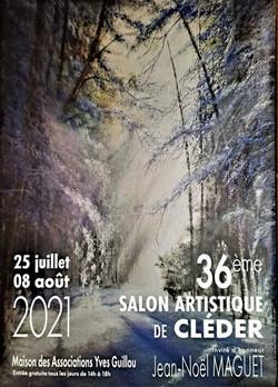 Affiche Salon de Cléder juillet et aout