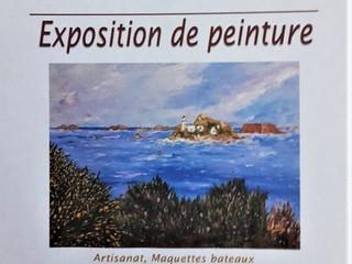 à Lanmeur -  Exposition de Peinture - du 1er au 15 août 2021