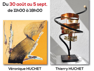 à Nevez - Exposition de peintures et de Luminaire - du 30 août au 5 septembre 2021