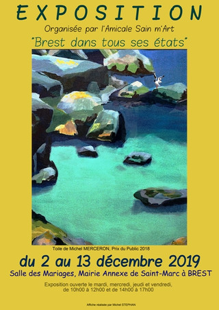 à Brest - Exposition à Saint Marc - Décembre 2019