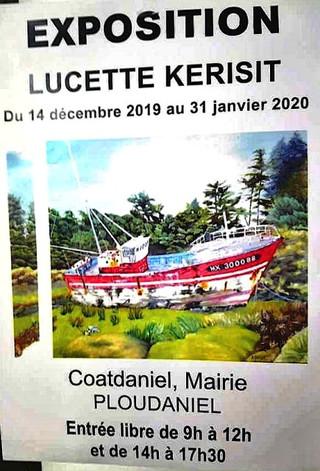 à Ploudaniel - Exposition de Peintures - du 14 décembre 2019 au 31 janvier 2020