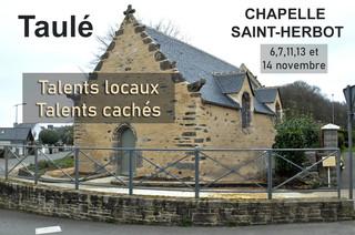 à Taulé - Exposition Chapelle Saint Herbot - les 6, 7,11,13 et 14 novembre 2021