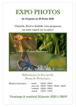 à Ploumoguer - Expo Photos - du 16 janvier au 29 février 2020