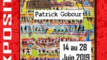 à Locquirec - Exposition Patrick GOBOUR - du 14 au 28 juin 2019