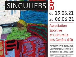 à Saint Pol de Léon - Exposition Regards Singuliers - du 19 mai au 6 juin 2021