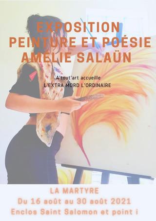 à la Martyre - Exposition de Peinture et Poésie - du  16 au 30 Août 2021