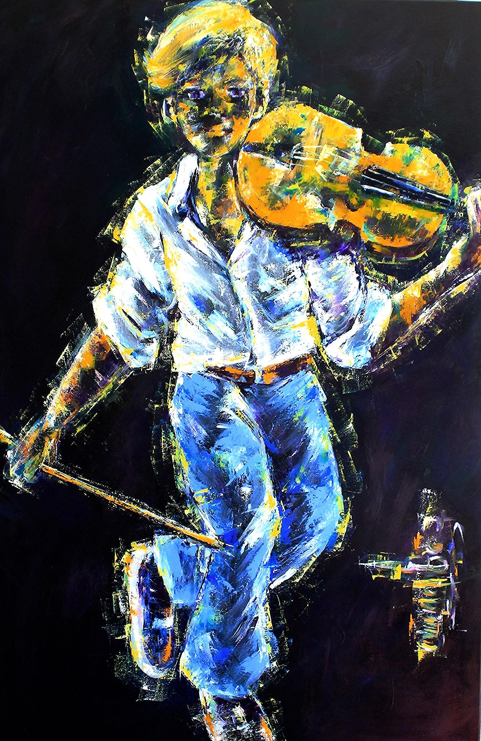 Le violoneux 114.5 x 74