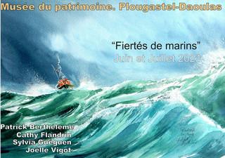 à Plougastel-Daoulas - Exposition - juin et juillet 2021