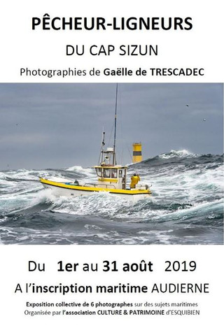 à Audierne - Exposition de Photos - du 1er au 31 août 2019