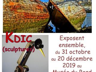 A Bénodet - Exposition de photos et de sculptures - du 31 octobre au 20 décembre 2019