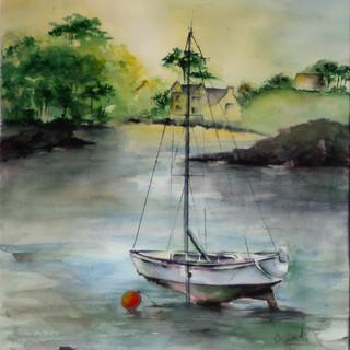Bateau à marée basse aquarelle 70x50.jpg