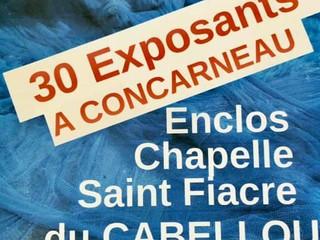à Concarneau - Exposition L'Arrêt Création - du 14 au 22 août 2021
